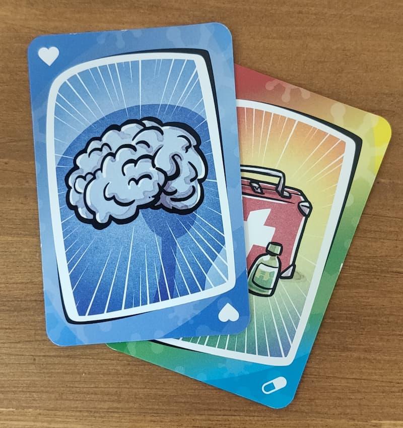 Cartas de cerebro y cura