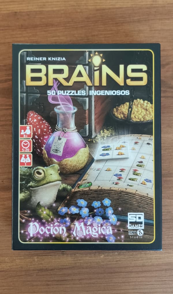 """Caja del juego Brains """"Poción Mágica"""""""