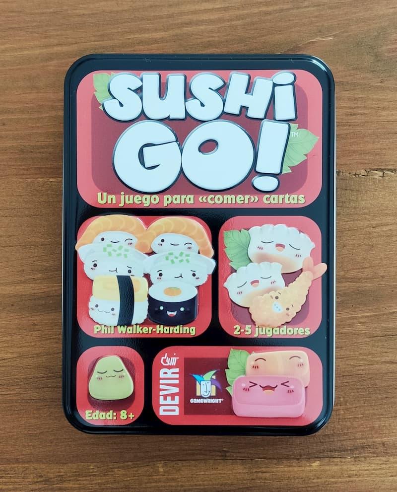 Caja del juego Sushi Go!