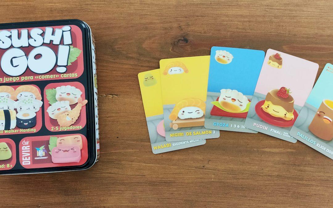 Juegos para abrir la mente mientras estemos cerrados – Sushi Go!
